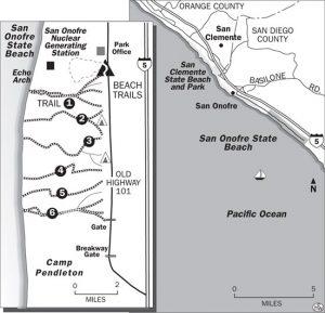 <b>San Onofre Trail Map</b>