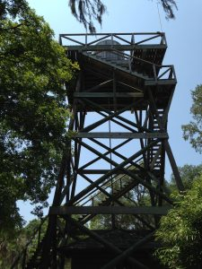<b>Old Park Water Tower</b><br> Nope, you can't climb it. Bummer, the view would have been awesome from here.