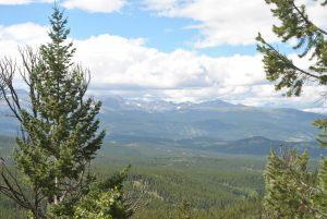<b>racoon trail</b><br> a mystic view of a far away mountain