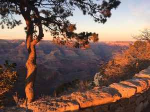<b>Sunset From The Rim Trail</b>