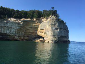 Pictured Rocks National Lakeshore – Little Beaver Lake to Miner's Castle - September 9, 2017