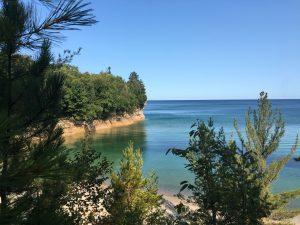 Pictured Rocks National Lakeshore – Little Beaver Lake to Miner's Castle - September 10, 2017