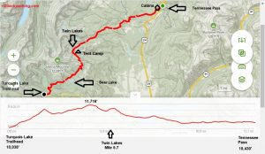<b>Colorado Trail Segment 9 Detailed Map - Sept 2020</b>