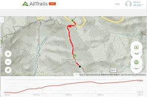 <b>Wildcat Mountain Detail And Profile Map</b>