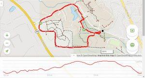 <b>Life University Loop Profile And Topo Map</b>